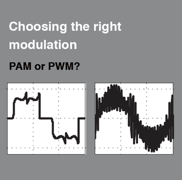 PAM or PWM