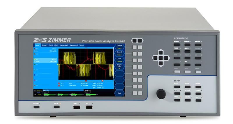 LMG670 - Channel Power Analyzer - ZES ZIMMER