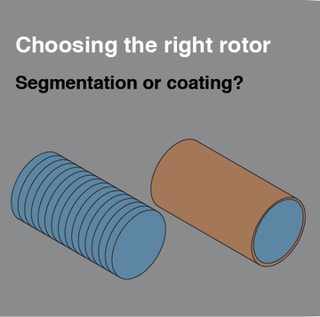 segmentation or coating