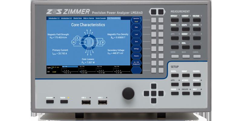 LMG640 - Channel Power Analyzer