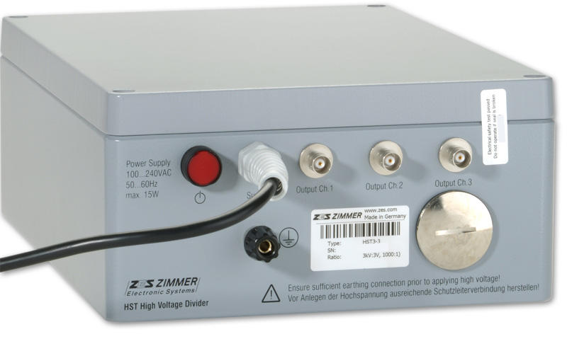 Hst Precision Wideband High Voltage Divider Zes Zimmer
